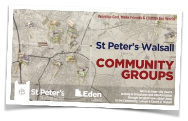 Community Groups meet as part of St Peter's Walsall